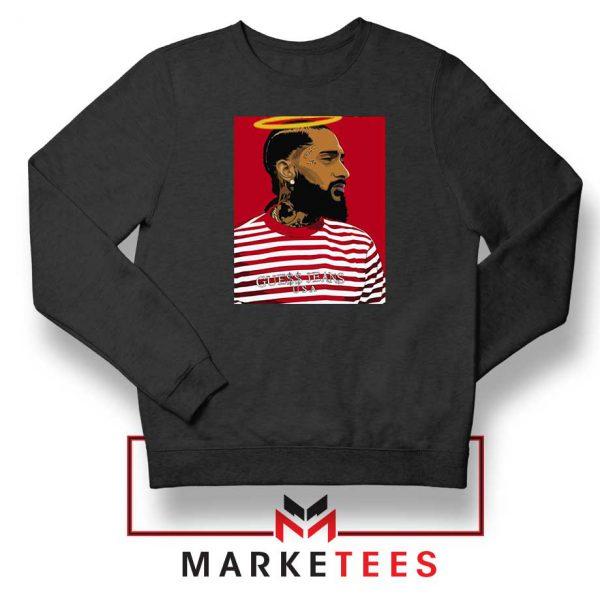 Nipsey Hussle RIP Rapper Black Sweatshirt