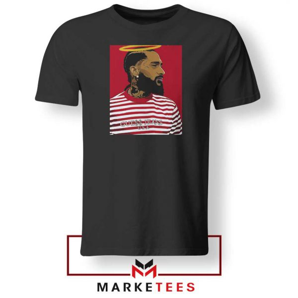 Nipsey Hussle RIP Rapper Black Tshirt