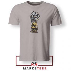 Peanuts Gang MF Doom Best Sport Grey Tshirt
