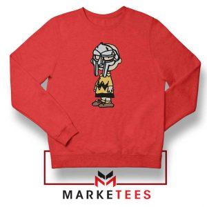 Peanuts Gang MF Doom New Red Sweatshirt