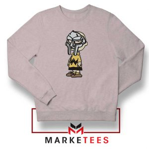 Peanuts Gang MF Doom New Sport Grey Sweatshirt
