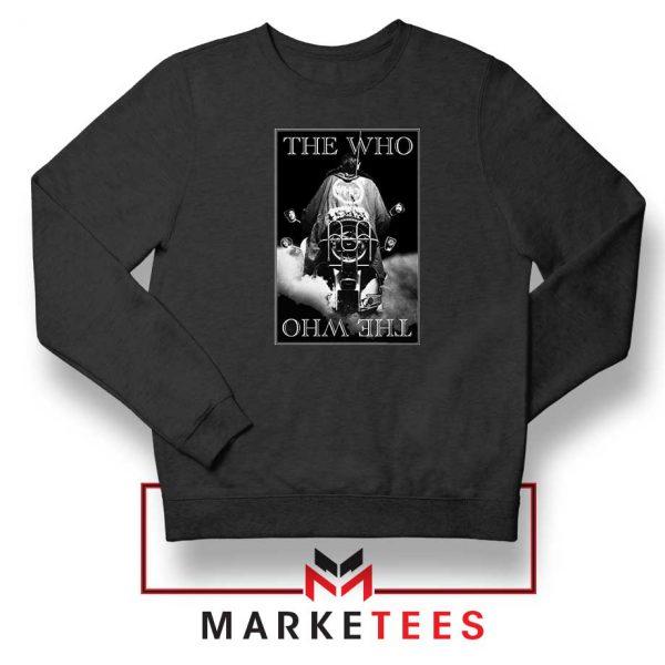 Quadrophenia Album The Who Black Sweatshirt