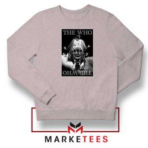 Quadrophenia Album The Who Grey Sweatshirt