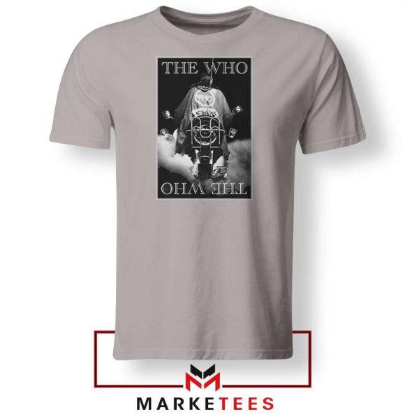 Quadrophenia Album The Who Nice Grey Tshirt