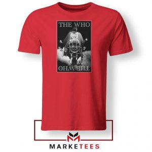 Quadrophenia Album The Who Nice Red Tshirt