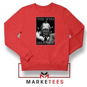 Quadrophenia Album The Who Red Sweatshirt