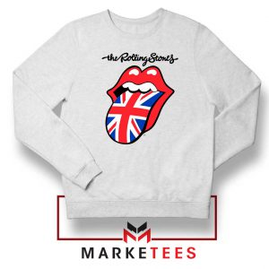 Rolling Stones Band UK Tongue Sweatshirt