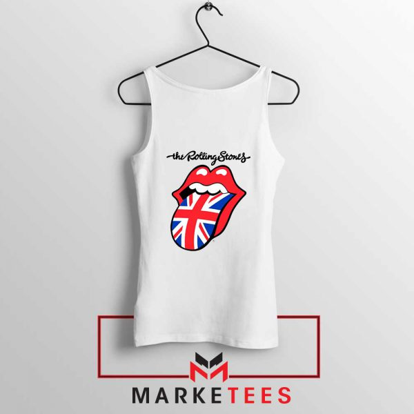 Rolling Stones Band UK Tongue Tank Top