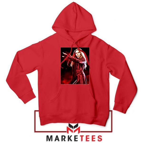 Scarlet Witch Kinder Marvel New Red Hoodie