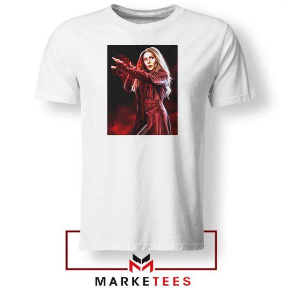 Scarlet Witch Kinder Superhero Tshirt