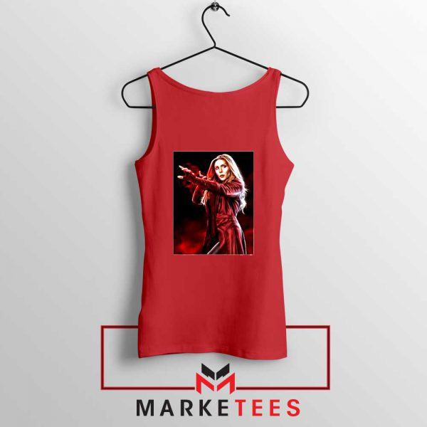 Scarlet Witch Kinder The X Men Red Tank Top