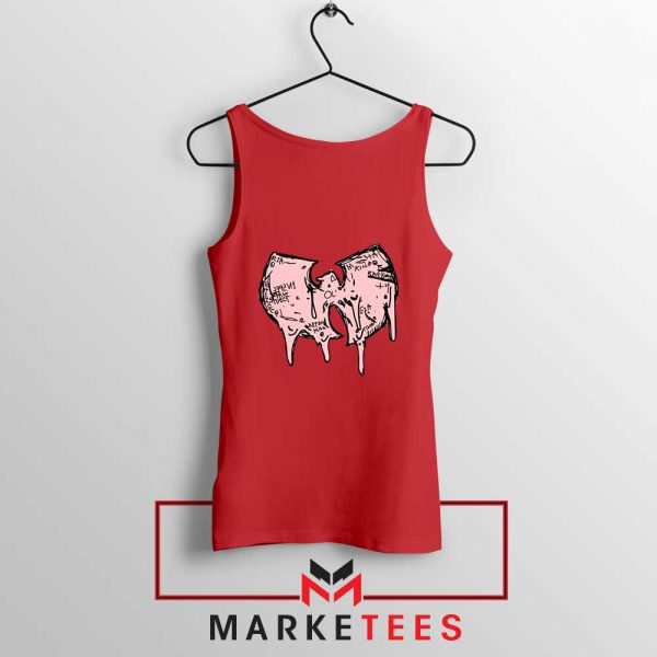 Shop Wuu Hiphop Music Best Red Tank Top