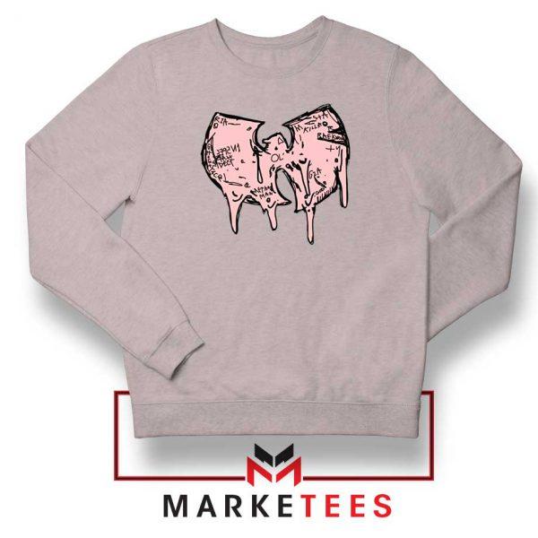 Shop Wuu Hiphop Music Cheap Sport Grey Sweatshirt