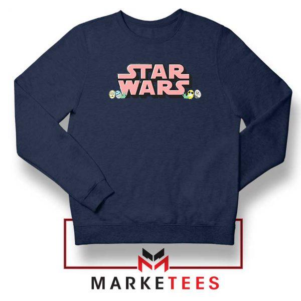Star Wars Easter Chest Logo Navy Blue Sweatshirt