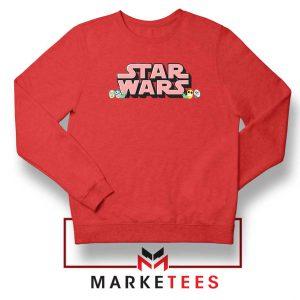 Star Wars Easter Chest Logo Red Sweatshirt