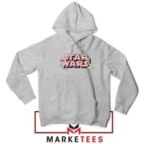 Star Wars Easter Chest Logo Sport Grey Hoodie