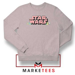 Star Wars Easter Chest Logo Sport Grey Sweatshirt