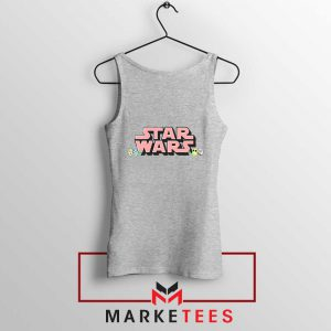 Star Wars Easter Chest Logo Sport Grey Tank Top