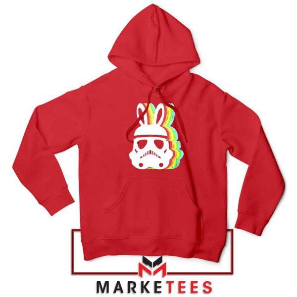 Stormtrooper Easter Ears Best Red Hoodie