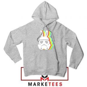 Stormtrooper Easter Ears Best Sport Grey Hoodie