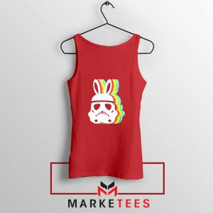 Stormtrooper Easter Ears Cheap Red Tank Top