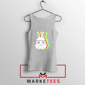 Stormtrooper Easter Ears Cheap Sport Grey Tank Top