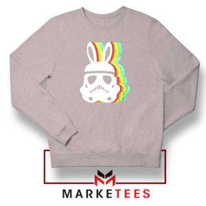 Stormtrooper Easter Ears Sport Grey Sweatshirt