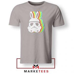 Stormtrooper Pastel Easter Ears Sport Grey Tshirt