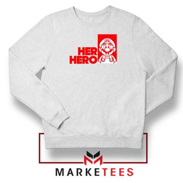 Super Mario Game Her Hero Sweatshirt