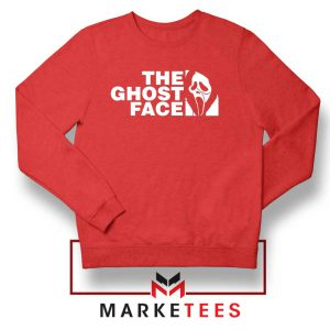 The Ghost Face Halloween Best Red Sweatshirt