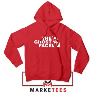 The Ghost Face Halloween Cheap Red Hoodie