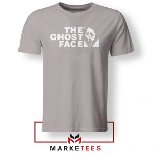 The Ghost Face Halloween Sport Grey Tshirt