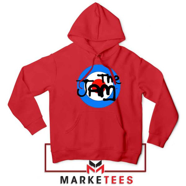 The Jam Rock Band Logo Best Red Hoodie