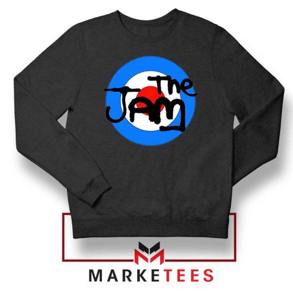 The Jam Rock Band Logo Black Sweatshirt