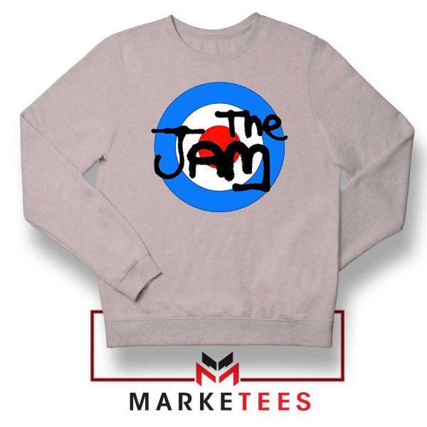 The Jam Rock Band Logo Grey Sweatshirt