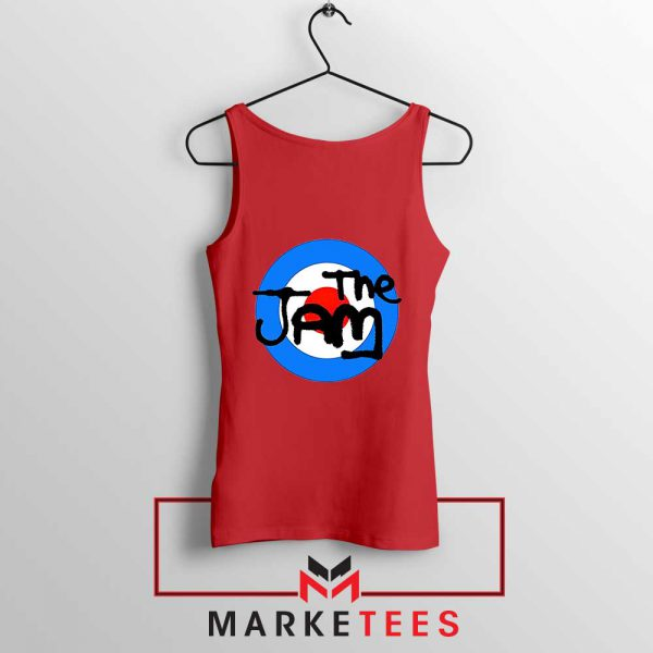 The Jam Rock Band Logo New Red Tank Top