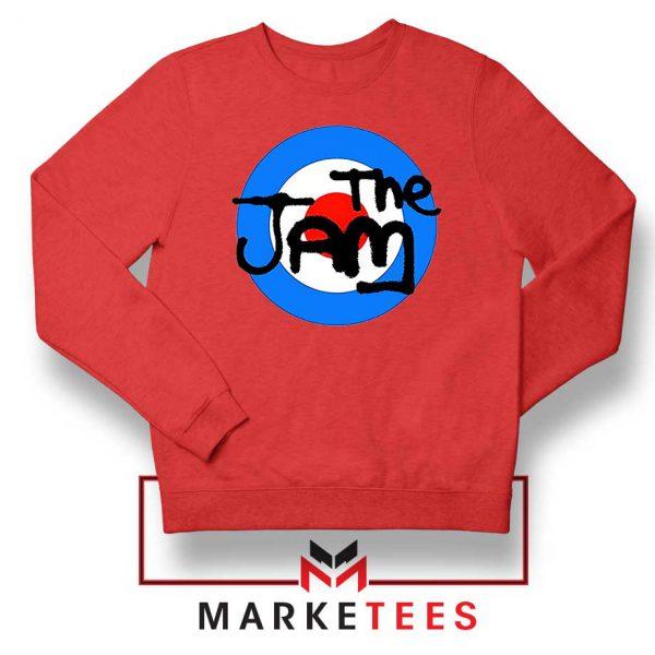 The Jam Rock Band Logo Red Sweatshirt