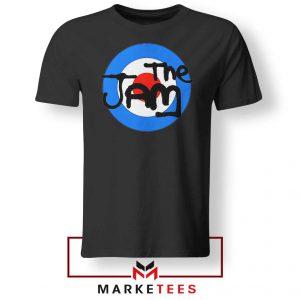 The Jam Rock Band Nice Logo Black Tshirt