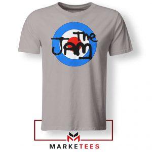 The Jam Rock Band Nice Logo Grey Tshirt