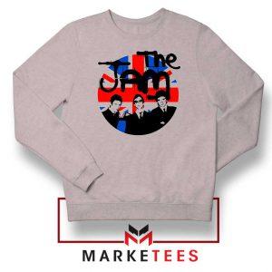 Union Jack Circle The Jam New Grey Sweatshirt