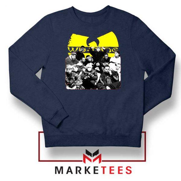 Wu Tang Feat Bernie Best Navy Blue Sweatshirt