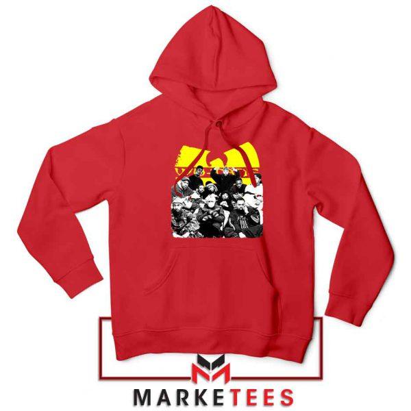 Wu Tang Feat Bernie Best Red Hoodie