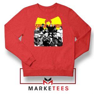 Wu Tang Feat Bernie Best Red Sweatshirt