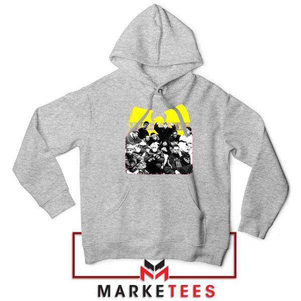 Wu Tang Feat Bernie Best Sport Grey Hoodie