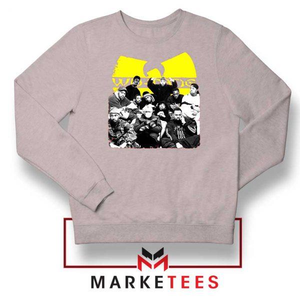 Wu Tang Feat Bernie Best Sport Grey Sweatshirt