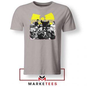 Wu Tang Feat Bernie Mask Sport Grey Tshirt