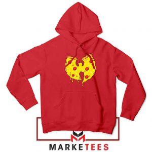 Wu Tang Pizza Funny Hip Hop Red Hoodie