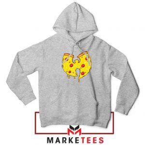 Wu Tang Pizza Funny Hip Hop Sport Grey Hoodie