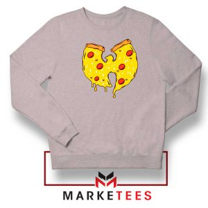 Wu Tang Pizza Funny Hip Hop Sport Grey Sweatshirt
