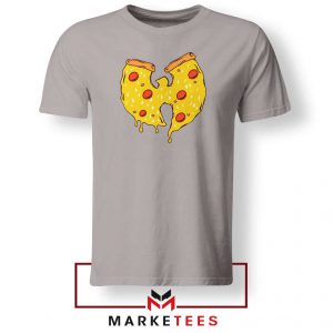 Wu Tang Pizza Funny Hip Hop Sport Grey Tshirt